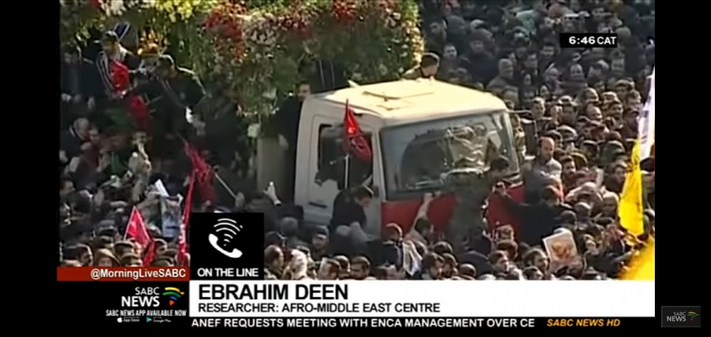 Ebrahim Deen weighs in on escalating US-Iran tensions