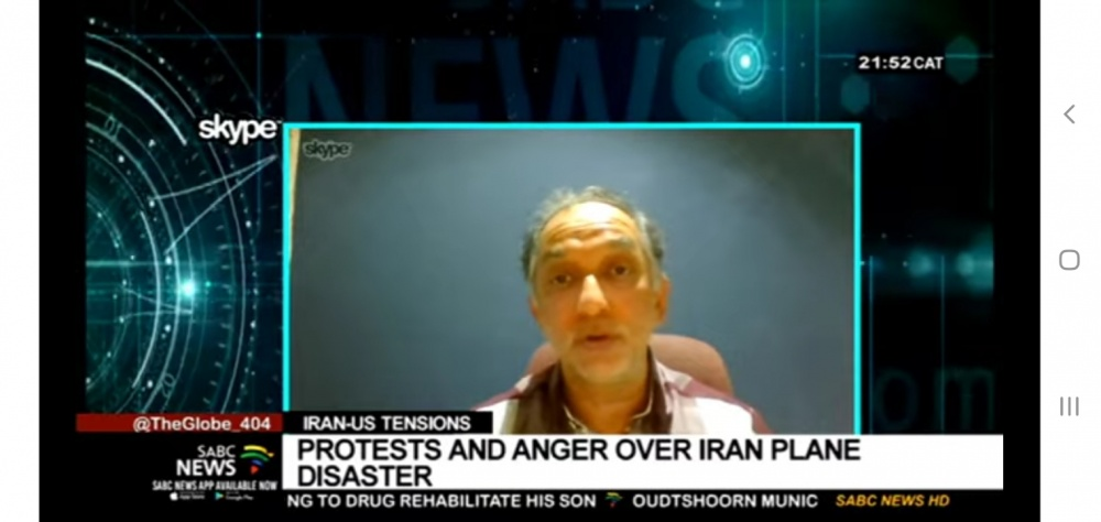 Latest on the Iran and US tension: Naeem Jeenah