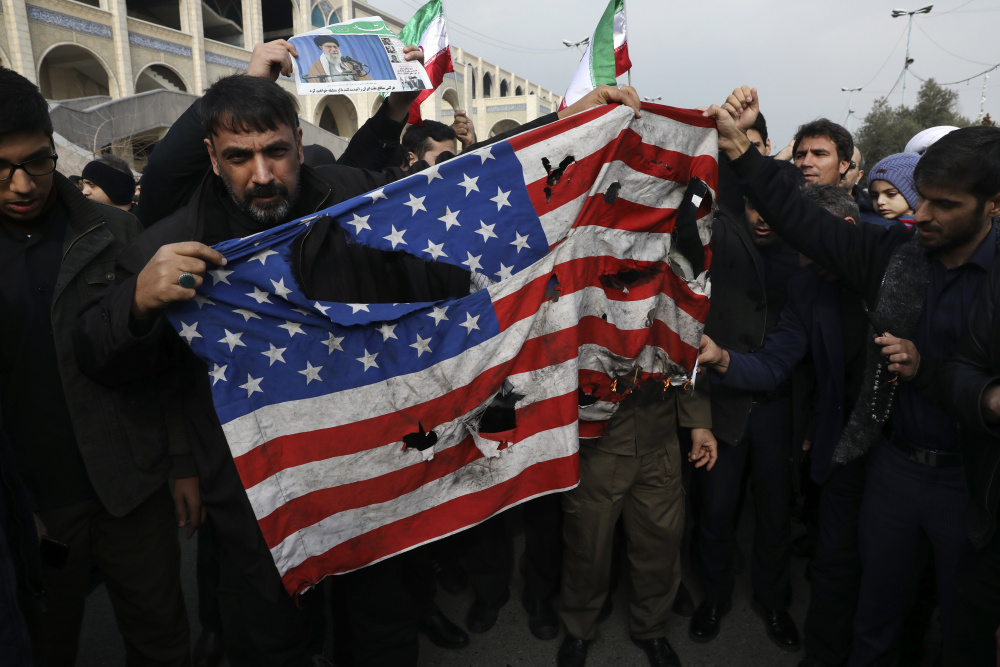 Increased USA-Iran tensions after Soleimani's assassination and their regional impact